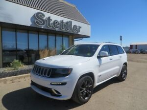 2016 Jeep Grand Cherokee SRT LAGUNA SEATS! NAV! SUNROOF! LOADED!