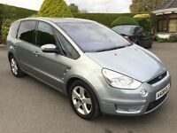 FORD S MAX, TDCI DIESEL, 2008, ONLY 77K FSH, 7 SEATER **FINANCE FROM AS LITTLE AS £40 PER WEEK **