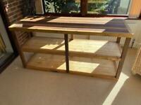 Large shelving unit/ sideboard