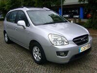 KIA Carens GS CRDI 2.0 Diesel 2007 ** 7 SEATS ** HPI CLEAR**LONG MOT**SERVICE HISTORY **NEW BATTERY