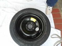 New, Unused wheel and tyre