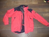 GORE-TEX JACKET WITH MASH LINING MEN'S SALEWA BLACK AND RED COLOUR SIZE XL