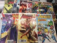 Avengers Marvel Comics agents of shield uncanny all new all different