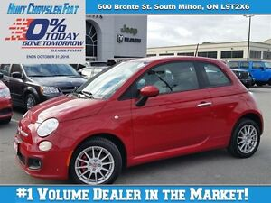 2013 Fiat 500 SPORT/AUTO/ALPINE AUDIO/HEADED SEATS