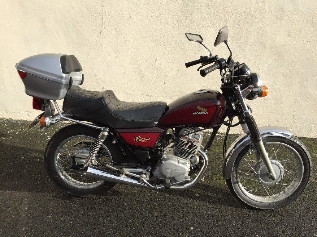 honda cm 125 custom 1982 classic in carlisle cumbria. Black Bedroom Furniture Sets. Home Design Ideas
