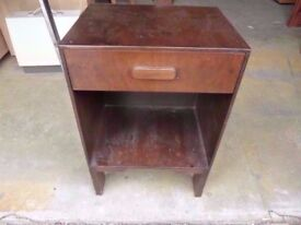 Bedside Table with single Drawer Delivery Available