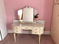 Suite of bedroom furniture
