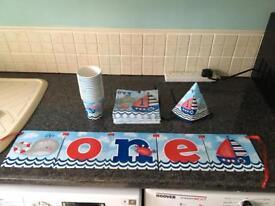 Boys 1st birthday Decorations