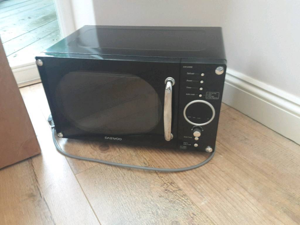 Black Daewoo microwave - model KOR6N9RB | in Peterborough ...
