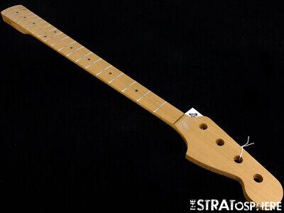 NEW Fender Lic Allparts Jazz Bass NECK Quartersawn Roasted Maple 20 Fret JMO-RQ