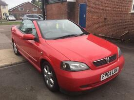 Vauxhall Astra 1.6 i 16v 2dr Convertible