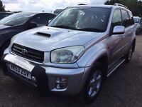 Toyota Rav4 DIESEL, AC , RECENT SERVICE, PRIVACY GLASS, LEATHER SEATS, IN VERY GOOD CONDITION