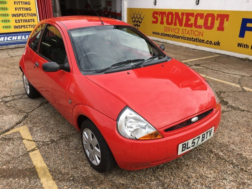 2007 FORD KA 1.3 RED 35 000 MILES SERVICE HISTORY VERY CLEAN