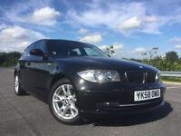 2008 BMW 1 SERIES 2.0 118d SE; LOW MILES+ £30 ROAD TAX+ 143 BHP 5dr
