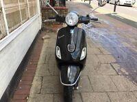 PIAGGIO VESPA LX 50cc black 2012 low mileage hpi clear !!