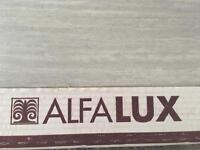 Alfalux tiles. Olimpia silver. Lovely grey tile for floors or wall x4 boxes