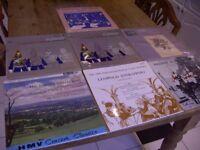 Classical Vinyl Albums x 7. British Collection. Vintage. Retro. 12'' 33 rpm. Circa '69. Williams....