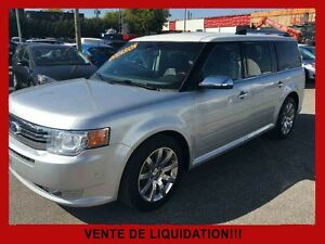 2011 Ford Flex Titanium AWD / CUIR / NAVIGATION
