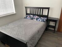 IKEA Hemnes double bed and Hovag Mattress