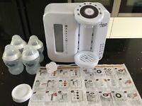 Tommee tippee prep machine/bottles/milk storage lid