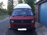 VW T25 4 berth campervan