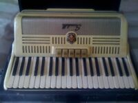 Vintage Italian Scandalli Accordion for sale