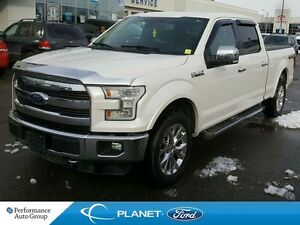 2015 Ford F-150 Lariat 4X4 CREWCAB 5.0 L. V8 ROOF LEATHER NAV