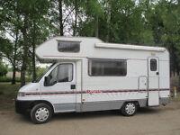 1999 Fiat ducato diesel swift Motorhome , sleeps 5, campervan power steering