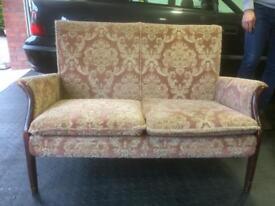 Queen Ann style 2 seater sofa