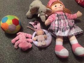 Girls toy set