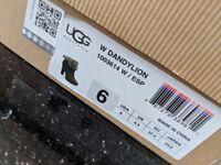 UGG Dandylion Light Brown Boot. Size 4.5