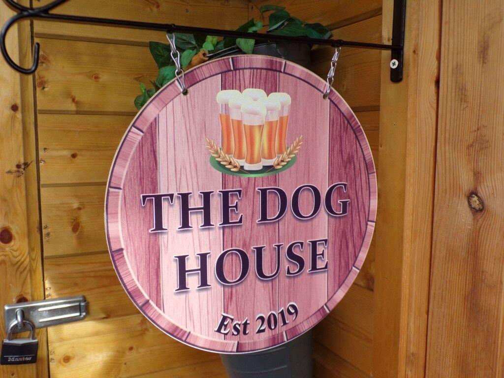 30 x 20 Personalised Hanging Bar sign shed pub Custom Man Cave Free P/&P