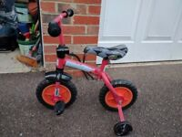 Cycle or Tricycle for 1 to 3 years old along with support wheels