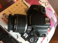 Canon EOS 550D 18.0MP Digital SLR Camera and EF-S IS 18-55mm