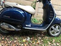 Vespa 300/125cc ABS/ASR Touring brand new bike re registered engine New