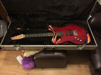 Kids size Ashton electric guitar. NO AMP includederd