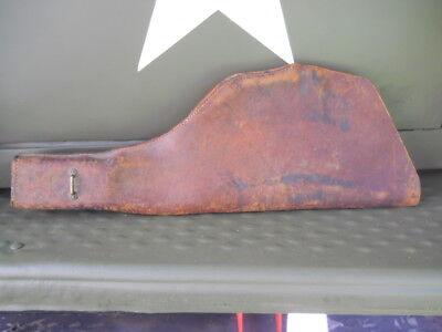 1941 Harley WLA Thompson Scabbard ORIGINAL WW2 Army Flathead Springer