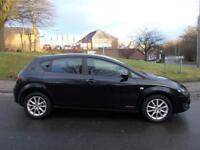 SEAT LEON 1.6 CR TDI SE COPA DSG 5d AUTO 103 BHP (black) 2012