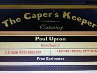 The Caper's Keeper Contracting
