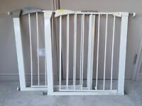 Two Child adjustable stair gates
