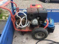 13.5 hp Clarke petrol power washer