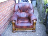 settee and 1 chair
