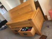 Coffee table storage unit