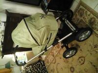 PRAM OR PUSHCHAIR EXCELLENT CONDITION COST £ 650 NEW ACCEPT £ 180