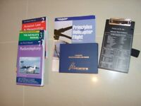 Books Learn to fly books and pilots log book new make a great Christmas present
