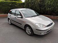 2003 Ford Focus 1.6 LX petrol, MOT'd Feb 2019, alloy wheels, CD/radio etc