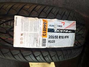 ONE TIRE ONLY. BRAND NEW HIGH PERFORMANCE  KUMHO  205 / 50 / 16 TIRE