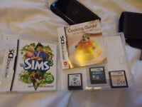 Nintendo DS lite with 3 games & charger