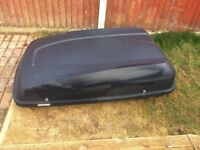 Halfords Car Roof Box with Keys