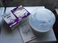 Philips Avent microwave steriliser and starter set